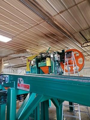 Norton Lumber set-up 3