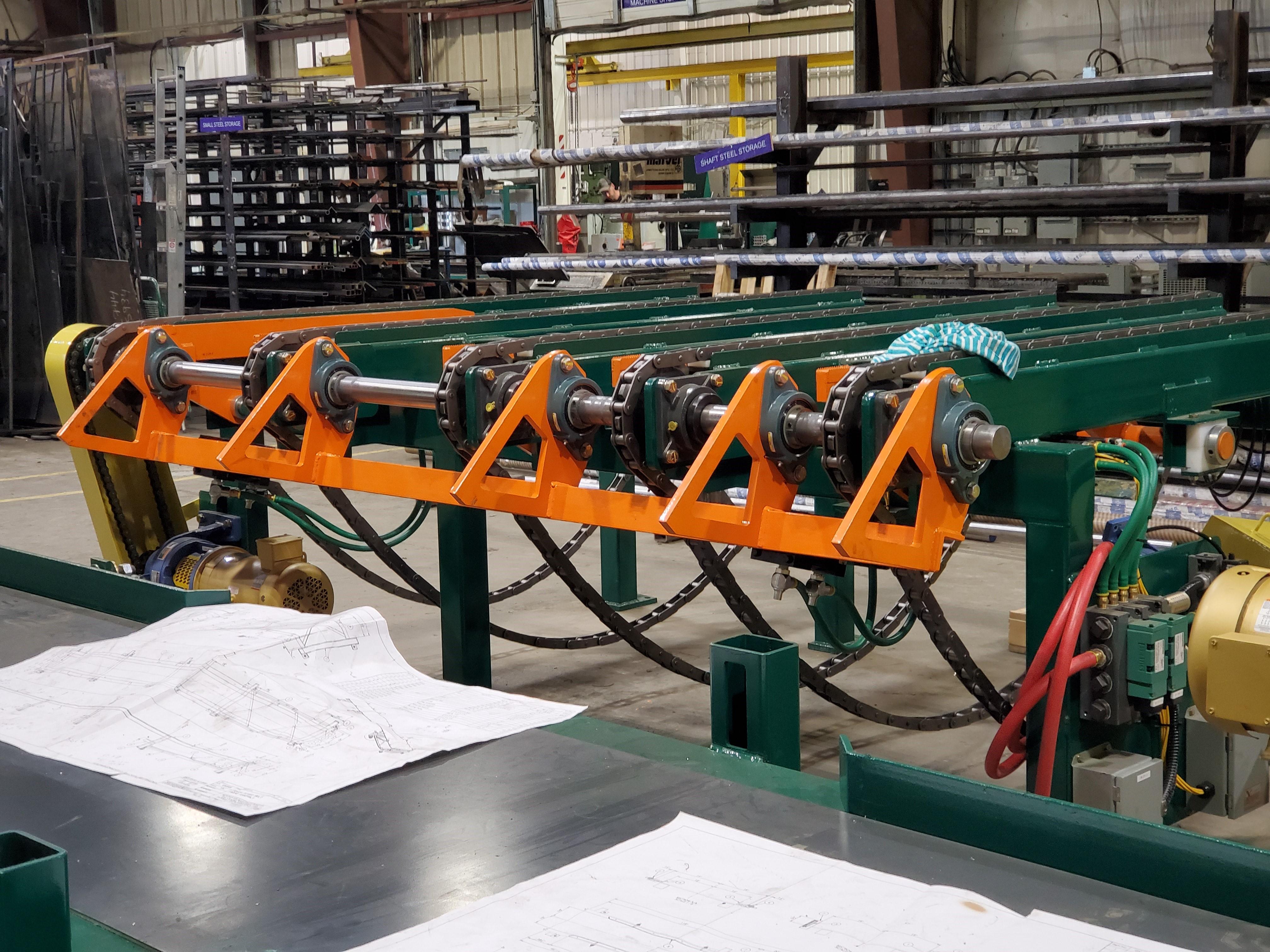 Chain Transfer Deck