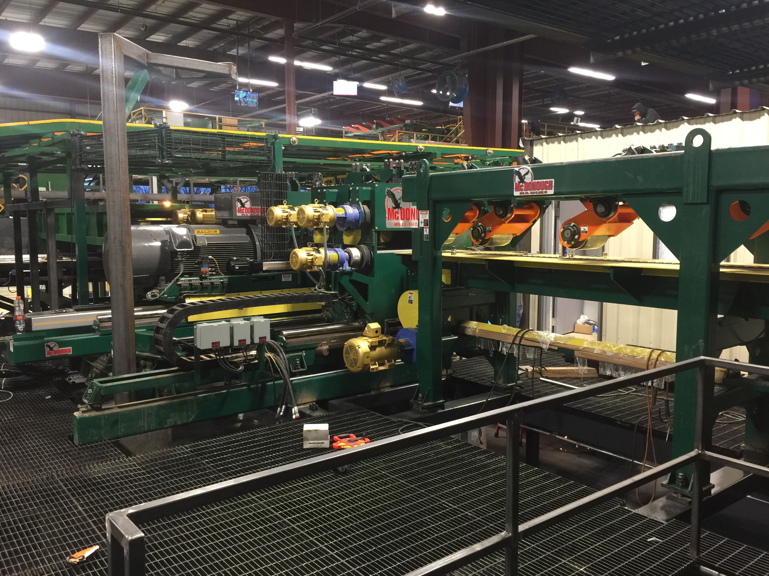 Curve Sawing Gang Infeed Module