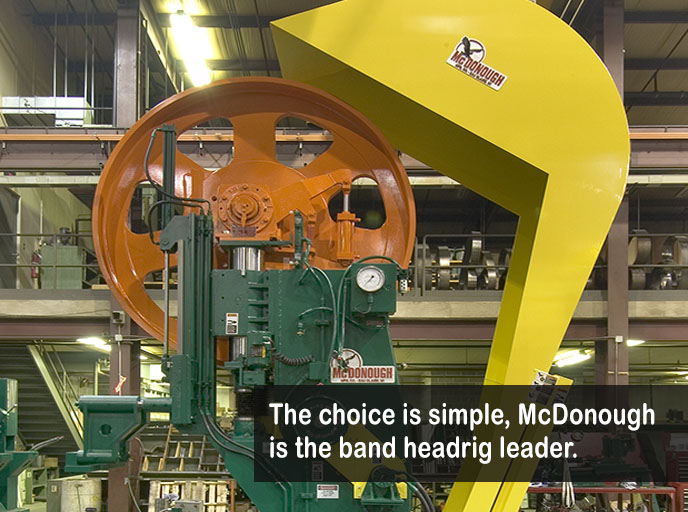 Industrial Bandmill headrig bandsaw