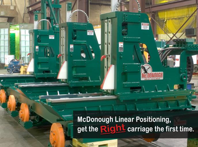 McDonough Premium Sawmill Carriage