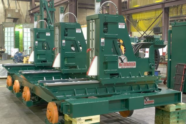 Precision and Premium Duty 36, 42, 48 Inch Opening Carriage (Sawmill)