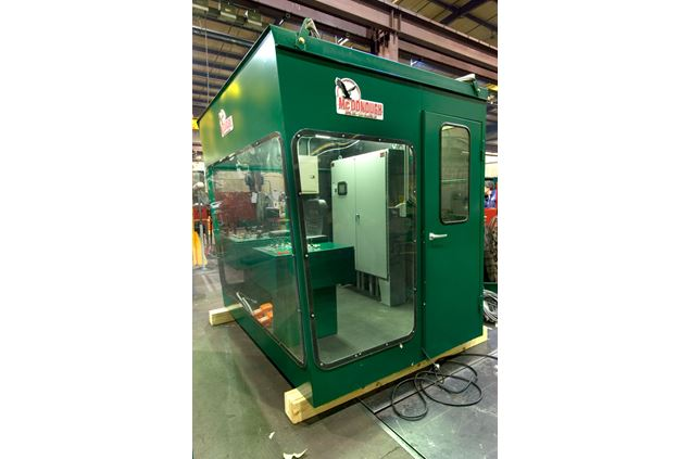 Custom Cabs for Comfort, Safety and Visability Operator Cab