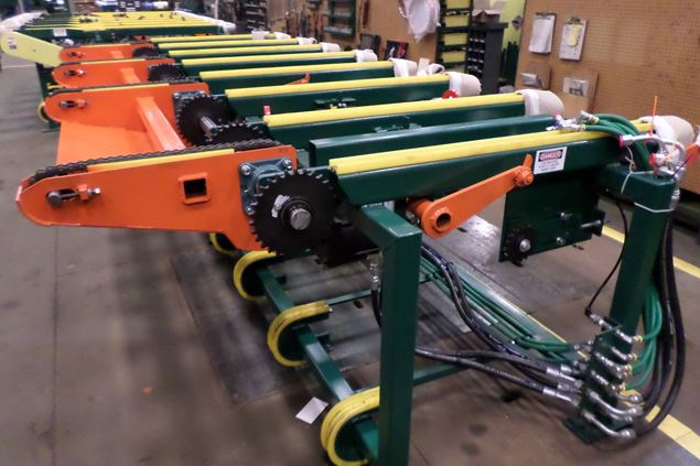 Chain Transfer Decks Conveyors Board Dealing