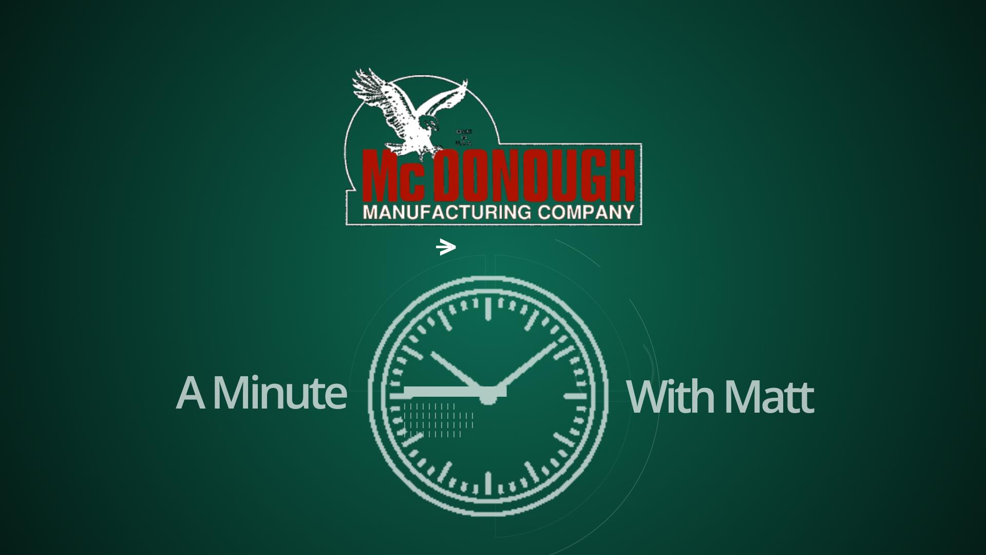 Minute with Matt intro